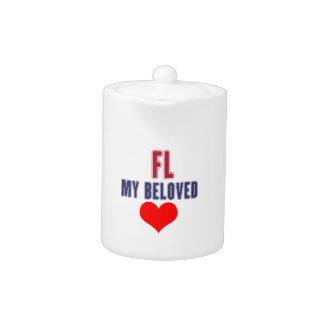 Florida my beloved teapot