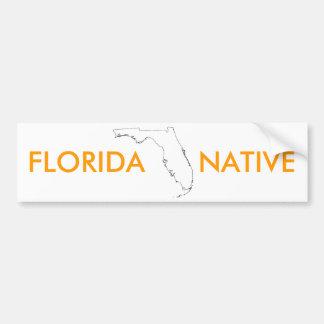 FLORIDA   NATIVE BUMPER STICKER