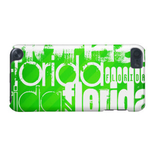 Florida; Neon Green Stripes. iPod Touch 5G Cases