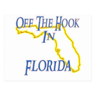 Florida - Off The Hook Postcard