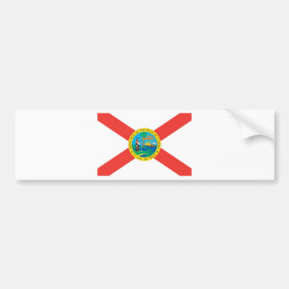 Florida Official State Flag Bumper Sticker