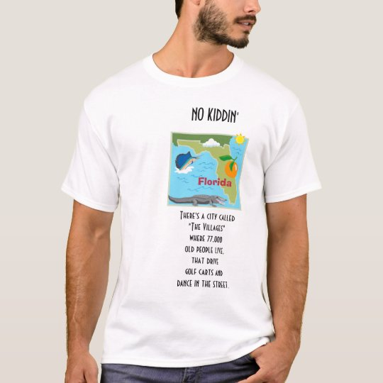 Florida Old People T-Shirt