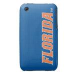 Florida - Orange & White Case-Mate iPhone 3 Cases