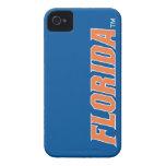 Florida - Orange & White iPhone 4 Case-Mate Cases