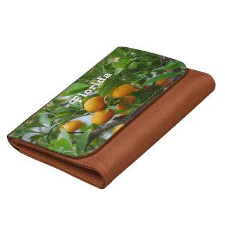 Florida Oranges Wallet For Women