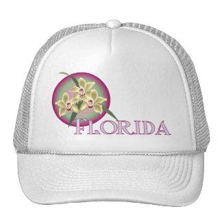Florida Orchid Trio Trucker Hat