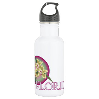 Florida Orchid Trio Water Bottle