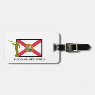 FLORIDA ORLANDO MISSION LDS CTR TRAVEL BAG TAGS