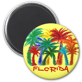 Florida palm tree magnet