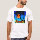 Florida Palm Trees Sunset T-Shirt