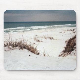 Florida Panhandle beach Mouse Pads