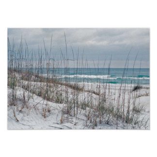Florida Panhandle Beach Poster