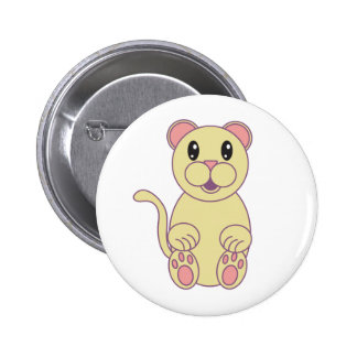 Florida Panther 2 Inch Round Button