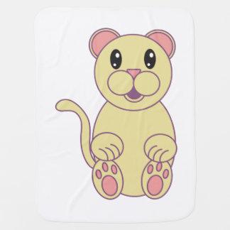 Florida Panther Baby Blanket