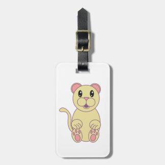 Florida Panther Customizable Travel Bag Tags