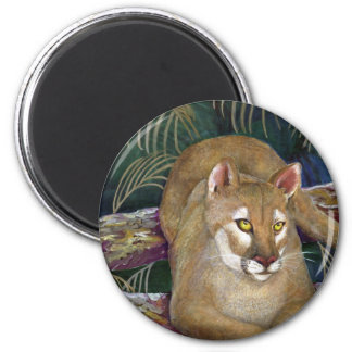 Florida Panther Fridge Magnet