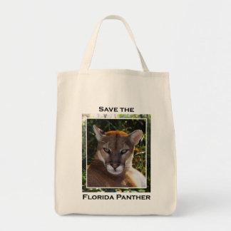 Florida Panther Grocery Tote Bag