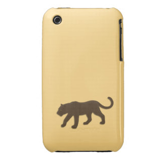 Florida Panther on Gold iPhone 3 Case
