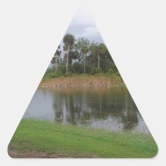 Florida Park Triangle Sticker