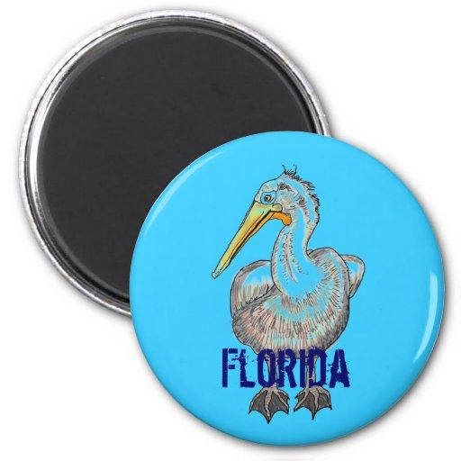 Florida Pelican magnet
