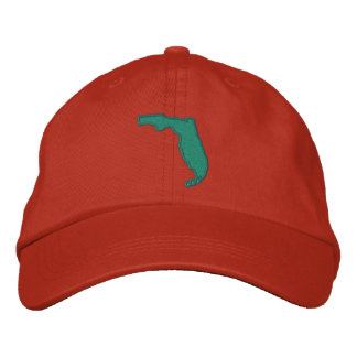 FLORIDA Personalized Adjustable Hat Embroidered Baseball Cap