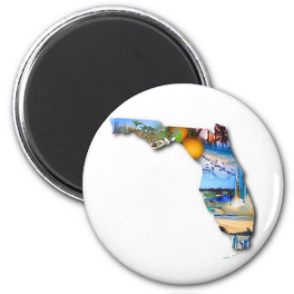 FLORIDA PICTURE DESIGN MAGNET