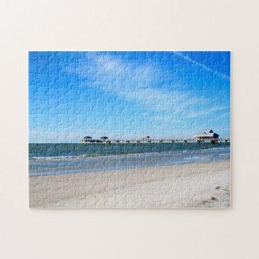 Beach Themed Florida - Pier 60 (Clearwater Beach) Jigsaw Puzzle