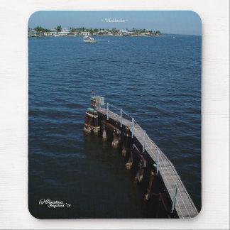 Florida pier Mousepad