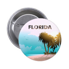 Florida Pinback Button