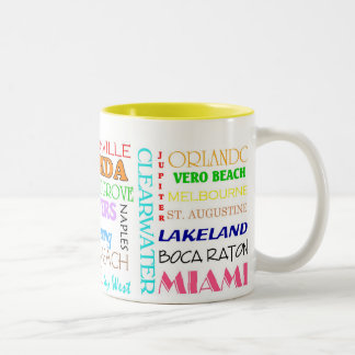 Florida places mug