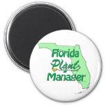 Florida Plant Manager Magnet