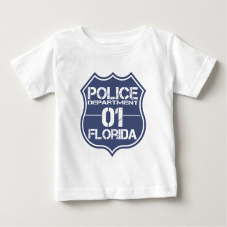 Florida Police Department Shield 01 Baby T-Shirt