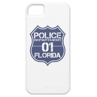 Florida Police Department Shield 01 iPhone SE/5/5s Case