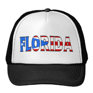 Florida - PR Trucker Trucker Hat