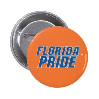 Florida Pride - Blue & White 2 Inch Round Button