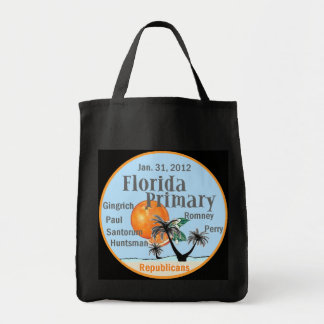 Florida Primary Tote Bags