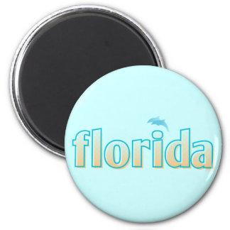 Florida Promo 2 Inch Round Magnet