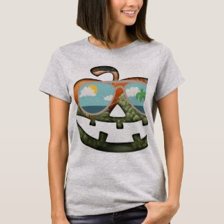 Florida Pumpkin ladies T-shirt for fun casual time