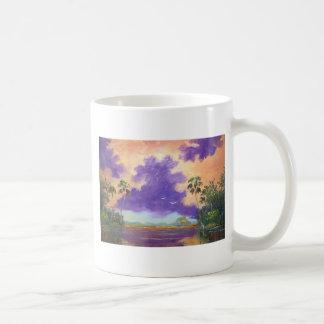 Florida Purple Clouds Classic White Coffee Mug