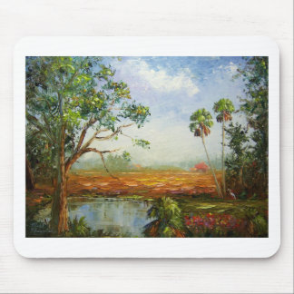 Florida Ranch Painting Mouse Pad