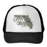 Florida Razed Hunter Camo Mesh Hats