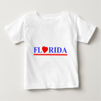 Florida red heartwood of beech baby T-Shirt