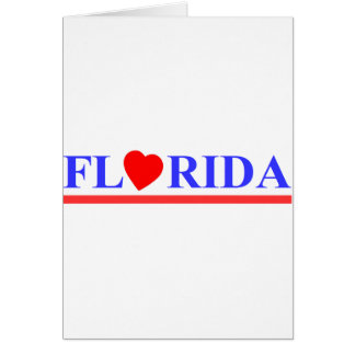 Florida red heartwood of beech card