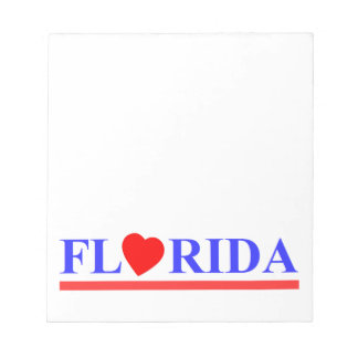 Florida red heartwood of beech notepad