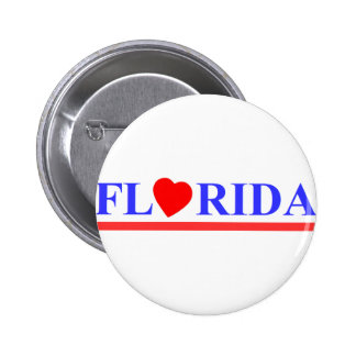 Florida red heartwood of beech pinback button