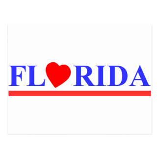Florida red heartwood of beech postcard