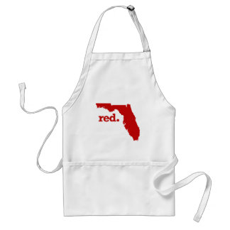 FLORIDA RED STATE ADULT APRON