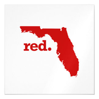 FLORIDA RED STATE MAGNETIC CARD