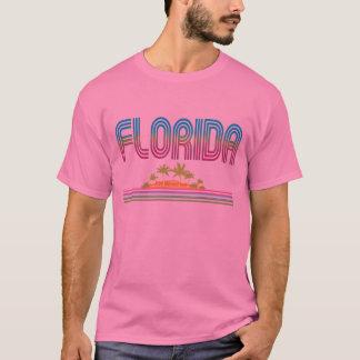 FLORIDA Retro Neon Palm Trees T-Shirt