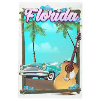 Florida Retro style travel poster